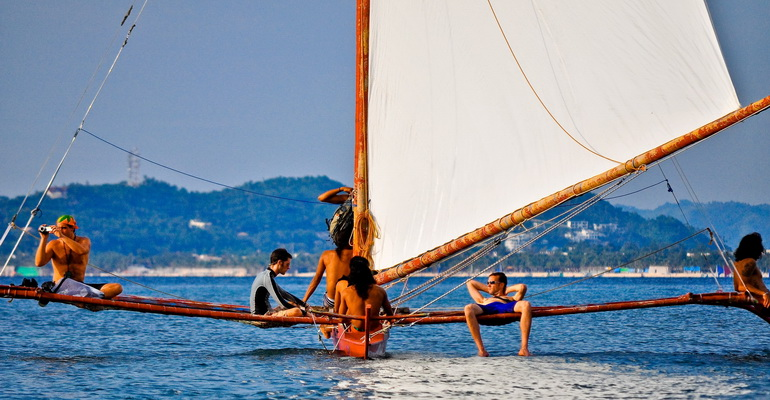 Paraw Sailing Boracay Activity
